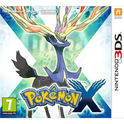 Foto van Pokemon X 3DS