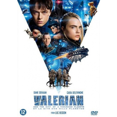 Foto van Valerian And The City Of A Thousand Planets DVD