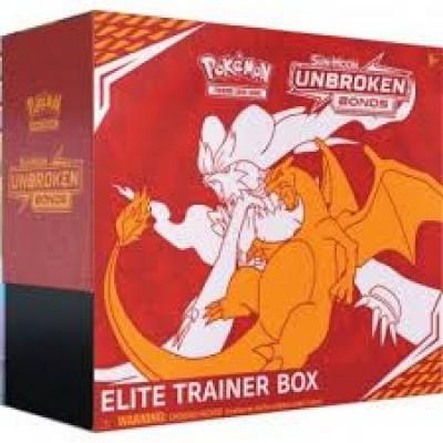 TCG Elite Trainer Box Pokemon Sun & Moon Unbroken Bonds POKEMON