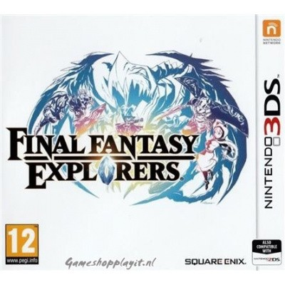 Foto van Final Fantasy Explorers 3DS