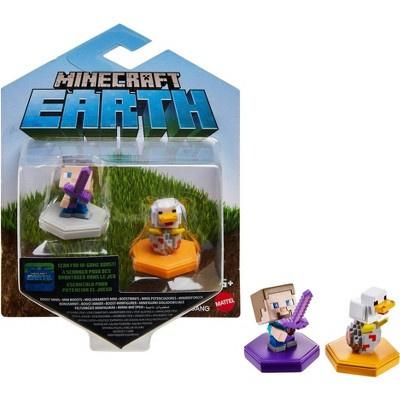 Foto van Minecraft Earth - Mini Boosts Assorted Pack 2 Figures (Steve/Duck) MERCHANDISE