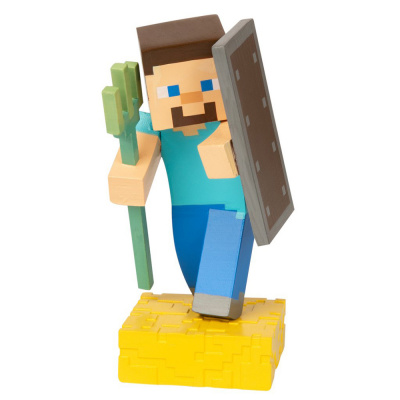 Minecraft: Adventure Figures Series 4 - Steve with Trident MERCHANDISE