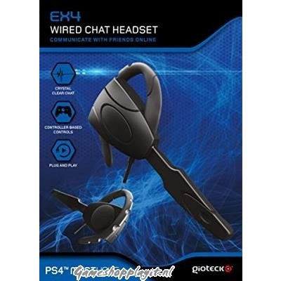 Foto van Gioteck Ex4 Wired Chat Headset PS4