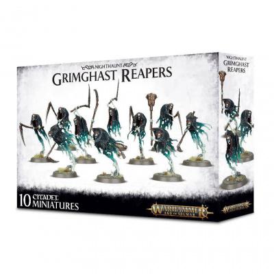 Foto van Nighthaunt Grimghast Reapers Warhammer Age of Sigmar