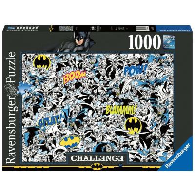 Foto van Batman Challenge Puzzle 1000pc PUZZEL