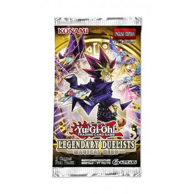 Foto van TCG Yu-Gi-Oh! Magical Hero Legendary Duelists Booster Pack YU-GI-OH