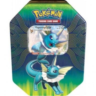 Foto van Tcg Elemental Power Tin - Vaporeon Pokemon Trading Card Game POKEMON