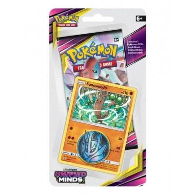 TCG Checklane Booster Pokémon Sun & Moon Unified Minds - Sudowoodo POKEMON