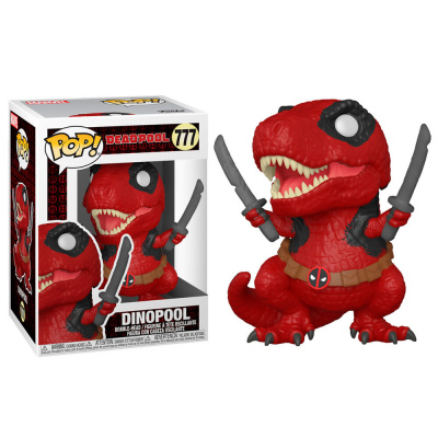Foto van Pop! Marvel: Deadpool 30th - Dinopool FUNKO