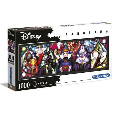 Disney Villains Panorama Puzzle 1000pc PUZZEL