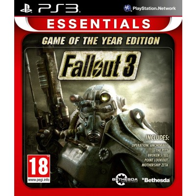 Foto van Fallout 3 Game Of The Year Edition (Essentials) PS3