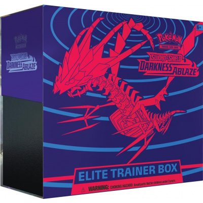 Foto van TCG Pokémon Sword & Shield Darkness Ablaze Elite Trainer Box POKEMON