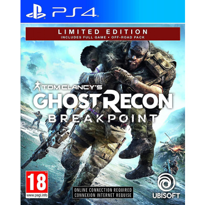 Tom Clancy's Ghost Recon: Breakpoint Limited Edition PS4