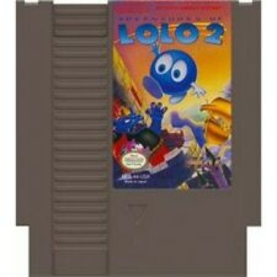 Foto van Adventures Of Lolo 2 (Losse Cassette) NES