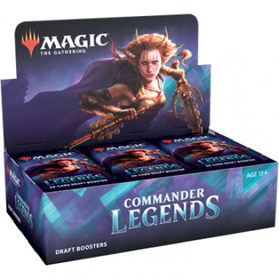 Foto van TCG Magic The Gathering Commander Legends Booster Box MAGIC THE GATHERING