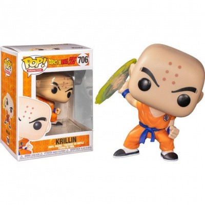 Foto van Pop! Animation: Dragon Ball Z - Krillin with Destructo Disc FUNKO