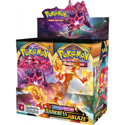 Foto van TCG Pokémon Sword & Shield Darkness Ablaze Booster Box POKEMON