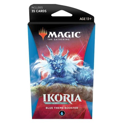 TCG Magic The Gathering Ikoria Lair Of Behemoths Blue Theme Booster MAGIC THE GATHERING
