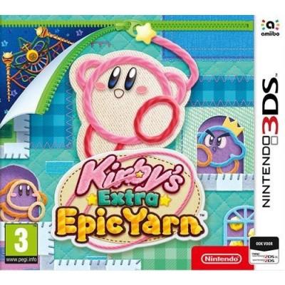 Foto van Kirby's Extra Epic Yarn 3DS