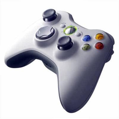 Foto van Wireless Controller Wit XBOX 360