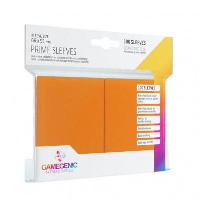 TCG Prime Sleeves 66 x 91 mm - Orange (Standard Size/100 Stuks) SLEEVES