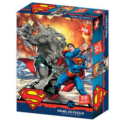 DC Comics Superman vs Doomsday Prime 3D puzzle 300pcs PUZZEL
