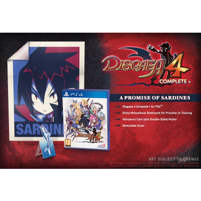 Foto van Disgaea 4 Complete+ - A Promise of Sardines Edition PS4