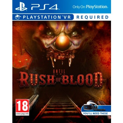 Until Dawn: Rush Of Blood (VR) PS4