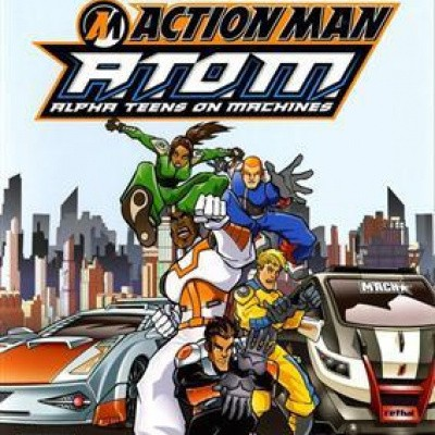Action Man A.T.O.M. Alpha Teens On Machines PS2