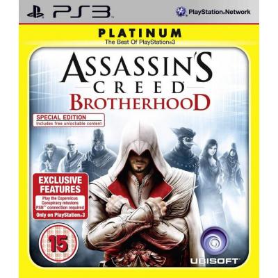 Foto van Assassin's Creed Brotherhood (Platinum) PS3