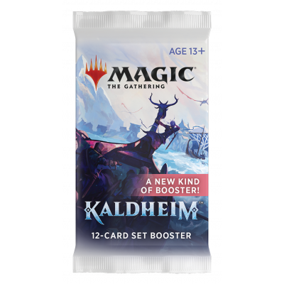 TCG Magic The Gathering Kaldheim Set Booster Pack MAGIC THE GATHERING