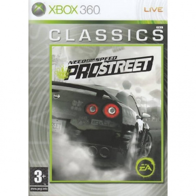 Need For Speed Pro Street (Classics) XBOX 360