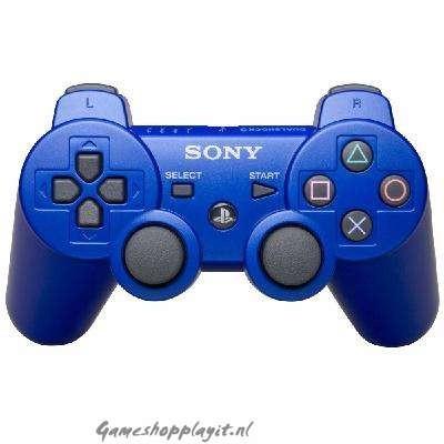 Foto van Dualshock 3 Metallic Blue (Blauw) PS3