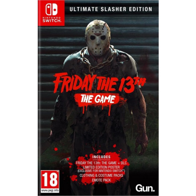Foto van Friday The 13th The Game Ultimate Slasher Edition SWITCH