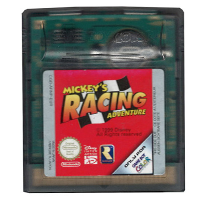 Foto van Mickey's Racing Adventure GBC LOSSE GAME