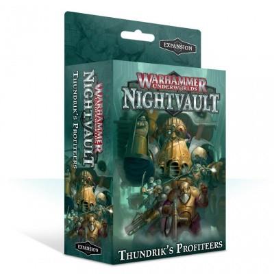 Warhammer Underworlds: Nightvault - Thundrik's Profiteers (Expansion) WARHAMMER UNDERWORLDS