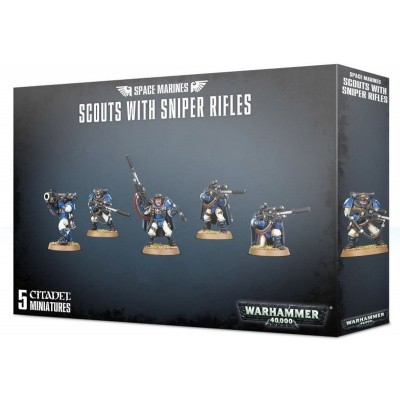Foto van Space Marines Scouts With Sniper Rifles WARHAMMER 40K