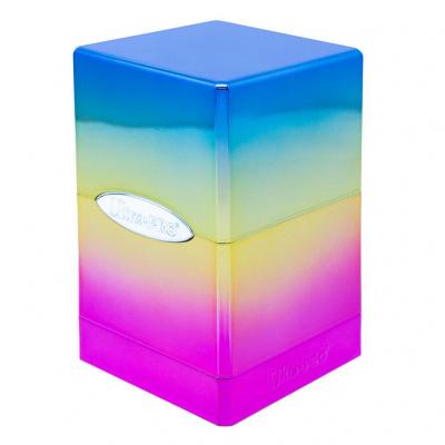 TCG Deckbox Satin Tower Hi-Gloss Rainbow DECKBOX