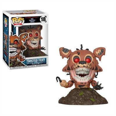 Foto van Pop! Books: Five Nights At Freddy's: The Twisted Ones - Twisted Foxy FUNKO