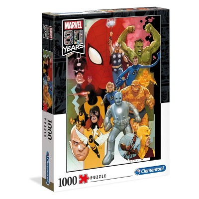 Marvel 80 Years Puzzle 1000pc PUZZEL