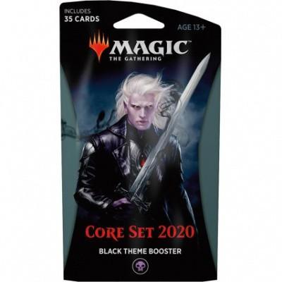 Foto van TCG Magic The Gathering Black Theme Booster Core 2020 MAGIC THE GATHERING