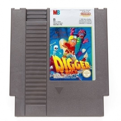 Foto van Digger T. Rock The Legend Of The Lost City (Cartridge Only) NES