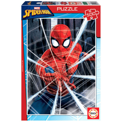Marvel Spider-man Puzzle 500pc PUZZEL