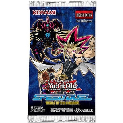 Foto van TCG Booster Pack Yu-Gi-Oh! Speed Duel - Trials Of The Kingdom YU-GI-OH