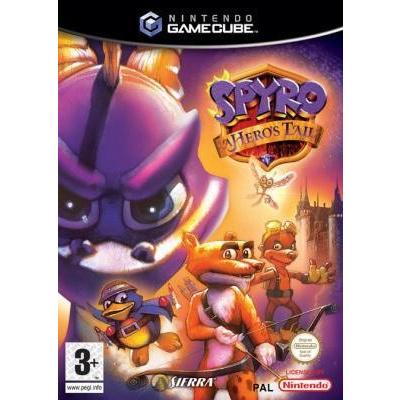 Spyro Hero's Tail Nintendo GameCube