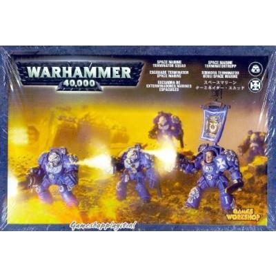 Foto van Space Marine Terminator Squad Warhammer 40k