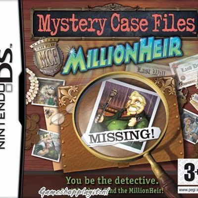 Foto van Mystery Case Files Millionheir NDS LOSSE GAME
