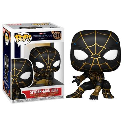 Foto van Pop! Spider-Man: No Way Home - Spider-Man Black & Gold Suit FUNKO