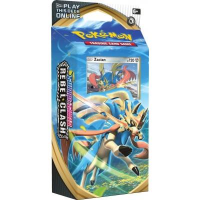 Foto van TCG Pokémon Sword & Shield Rebel Clash Theme Deck - Zacian POKEMON