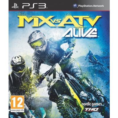 Foto van MX Vs Atv Alive (Italiaans Boekje) PS3